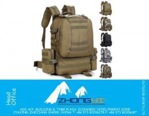 50L Outdoor Travel Military Tactical Backpack Molle System Bag Life Saver Bug Out Bag Survival Carry Assault tactical Bag
