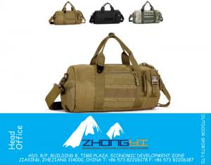 Military Camouflage travel Handbag Man drum bags U.S Gear Tactical Messenger Shoulder Bag Outdoor Sports Fitness Bags