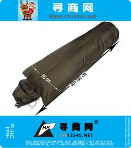 Winter Waterproof Military Portable Sleeping Bag Outdoor Camping Hiking Gear Compression Pack